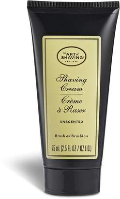 The Art of Shaving Shave Cream Tube, Unscented, 75ml