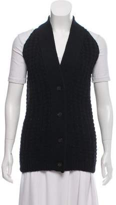 Maison Margiela Wool Button-Up Vest