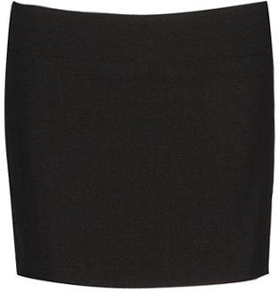 Twill Weave Mini Skirt