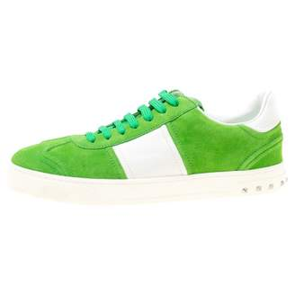 Valentino Green Suede Trainers
