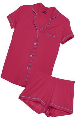 Cosabella Bella Short Sleeve Boxer Pajama Set