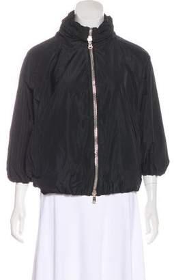 Moncler Oversize Zip-Up Jacket