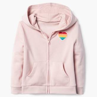 Gymboree Heart Patch Hoodie
