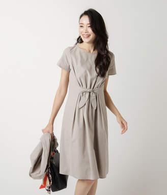 NEWYORKER women's 【春新作】【ウォッシャブル】Summer Time Dress/フロントリボン サマータイムドレス