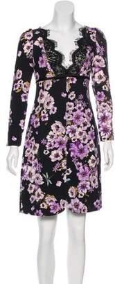 Giambattista Valli 2017 Floral Print Dress
