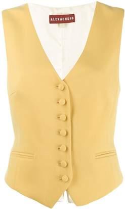 ALEXACHUNG Alexa Chung classic waistcoat