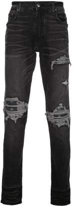 Amiri slim distressed jeans