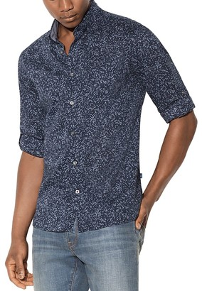 John Varvatos Star USA Floral Print Mitchell Slim Fit Button-Down Shirt $148 thestylecure.com