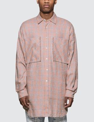 Faith Connexion Tweed Overshirt