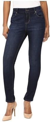 Liverpool Petite Abby Skinny Jeans in Corvus Dark Indigo