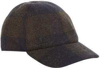Stephan Schneider Checked Wool Cap