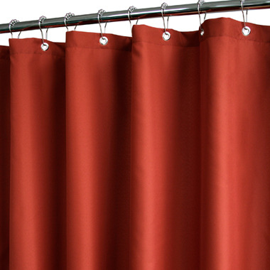 """B. Smith Park Dorset Solid Russet 72"""" x 72"""" WaterShed® Shower Curtain"""