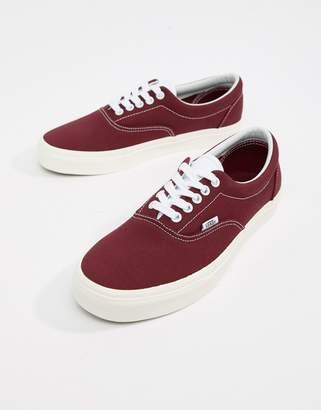 Vans Era Sneakers In Burgundy VA38FRU8M