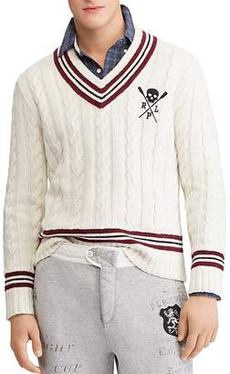 Polo Ralph Lauren V-Neck Cricket Sweater