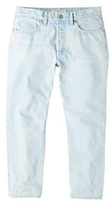 Mango man MANGO MAN Bleached wash straight-fit jeans