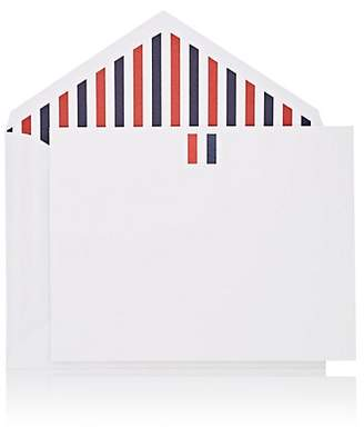 Thom Browne CONNOR X Tricolor Notecard Set - White
