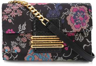 Etro floral pattern clutch bag