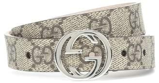 Gucci Kids GG Supreme belt