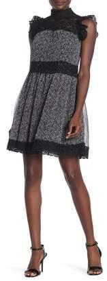 Kate Spade Teeny Floral Print Mini Dress