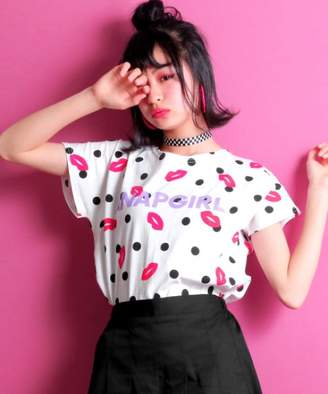 ANAP (アナップ) - ANAP GiRL 3パターン柄Tシャツ