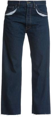 Maison Margiela Ripped Details Jeans