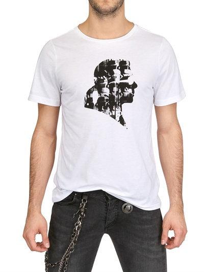 Karl Lagerfeld Jersey Print T-Shirt
