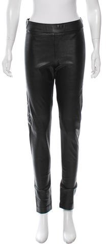 Avenue Montaigne Avenue Montaigne Vegan Leather Leggings w/ Tags