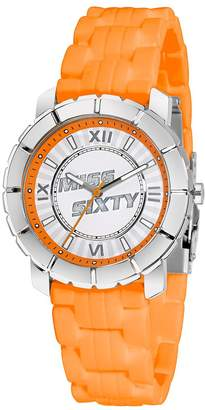 Miss Sixty Women's SIJ001 Star Silicone Orange Strap Sportive Miss 60 Watch
