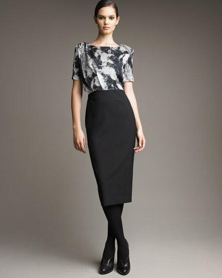 Rachel Roy Two-Tone Dress