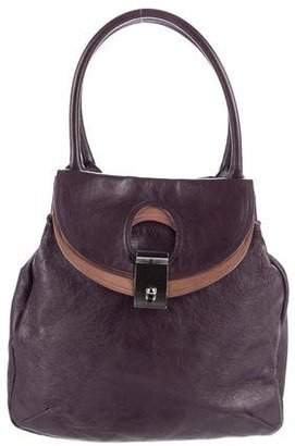 Marc Jacobs Leather Satchel Tote $145 thestylecure.com