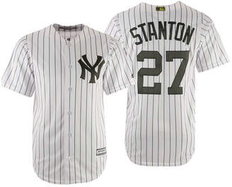 Majestic Men Giancarlo Stanton New York Yankees Usmc Cool Base Jersey