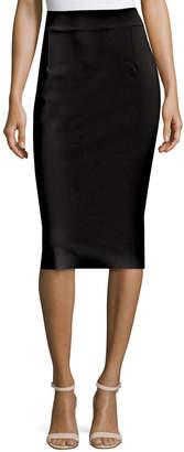 Chiara Boni Lumi Stretch Jersey Pencil Skirt