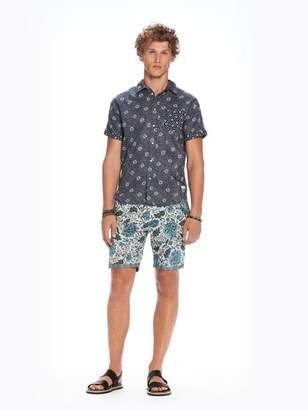 Scotch & Soda Combined Print Shirt | Regular fit