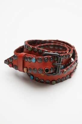 Campomaggi Cabachon Studded Jean Belt