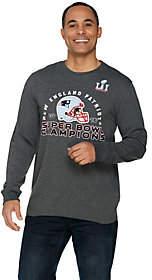 NFL Super Bowl 51 New England PatriotsMen's L/S Tee