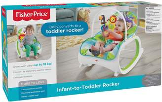 Fisher-Price Rainforest Infant to Toddler Rocker
