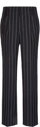Lanvin Pinstriped Wool-Blend Trousers