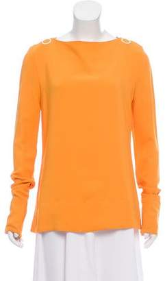 Paul Smith Long Sleeve Square Neck Top w/ Tags