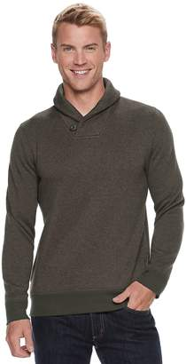 Sonoma Goods For Life Men's SONOMA Goods for Life Modern-Fit Supersoft Sweater Fleece Shawl-Collar Sweater
