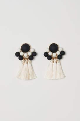 H&M Earrings - Beige