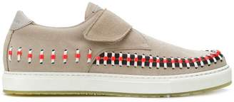 Marc Jacobs woven detail sneakers