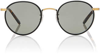 Garrett Leight Wilson 49 Stainless Steel Sunglasses