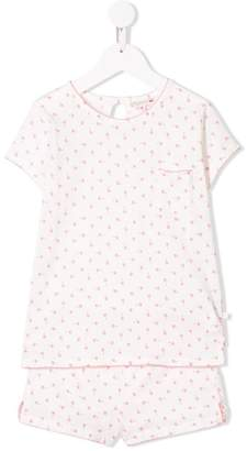 Bonpoint T-shirt and shorts pajama set