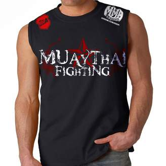Tapout Stryker Fight Gear Muay Thai Fighting Adult Muscle MMA UFC Sleeveless Shirt (4XL)