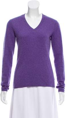 Magaschoni Cashmere V-Neck Dress