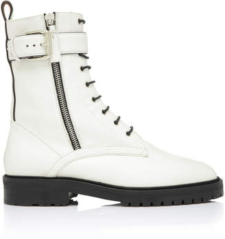 Tabitha Simmons Max Leather Combat Boots