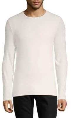 ATM Anthony Thomas Melillo Modal Rib Long Sleeve Top