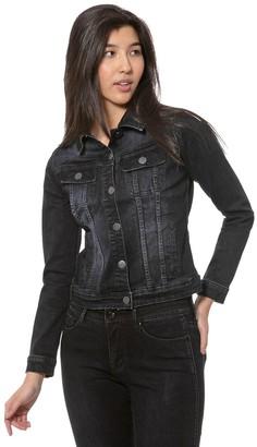 Lola Jeans Classic Flap Pocket Jean Jacket - Gabriella