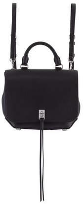 Rebecca Minkoff Darren Medium Convertible Leather Backpack, Black