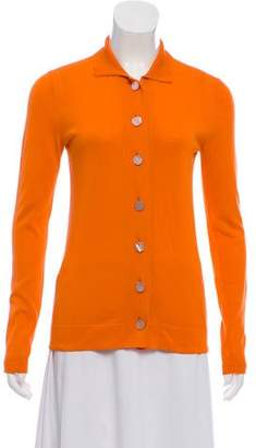 Hermes Knit Button-Up Cardigan